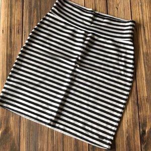 NWOT Victoria's Secret Stripe Stretch Mini Skirt S